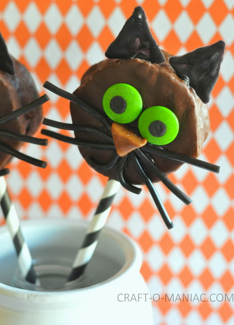 17 - Craft o Maniac - Chocolate Cat Halloween Treats