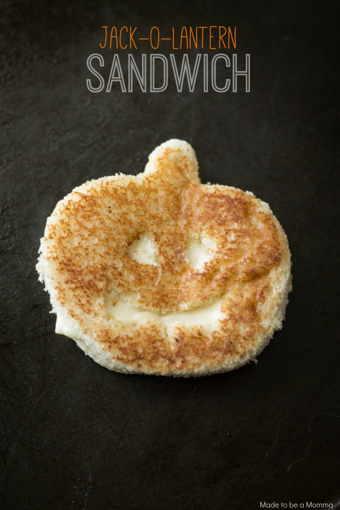 19 - Made to Be a Momma - Jack O Lantern Sandwich