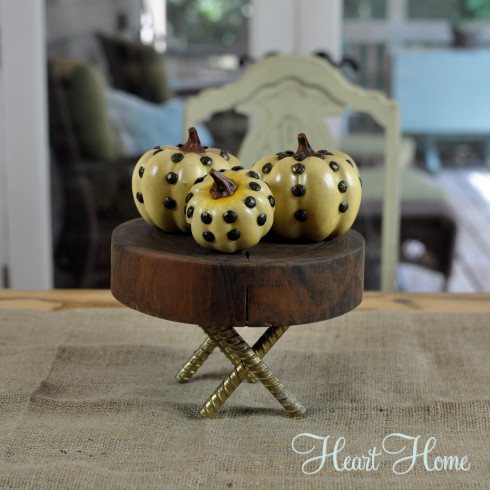26 - All Things Heart and Home - Studded Pumpkins