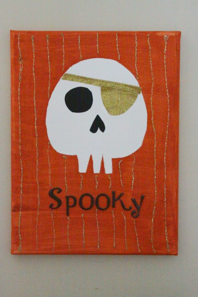 26 - Our Pinteresting Family - Skull Halloween Decor
