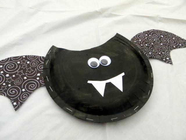 28 - Made to Be a Momma - Halloween Paper Plate Treat Bag