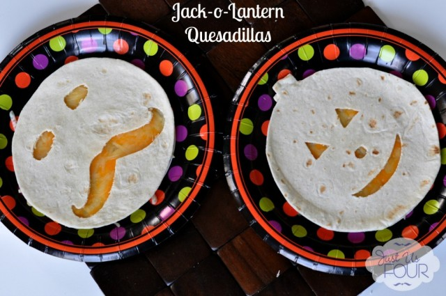 29 - Just Us FOur - Jack O Lantern Quesadillas