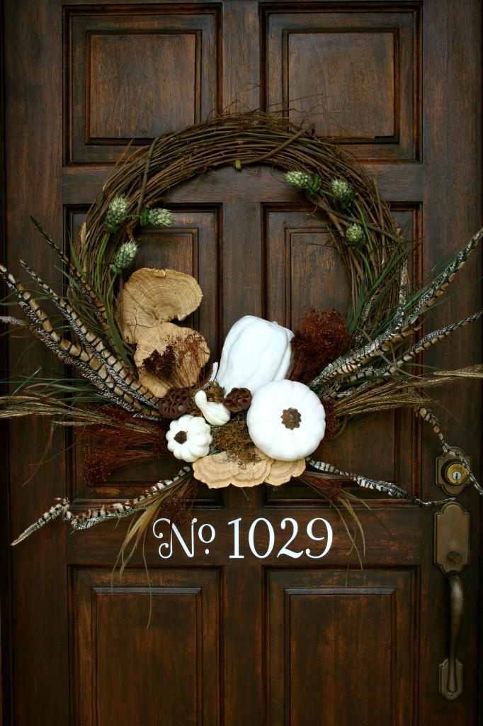 35 - Refresh Restyle - White Pumpkin Wreath