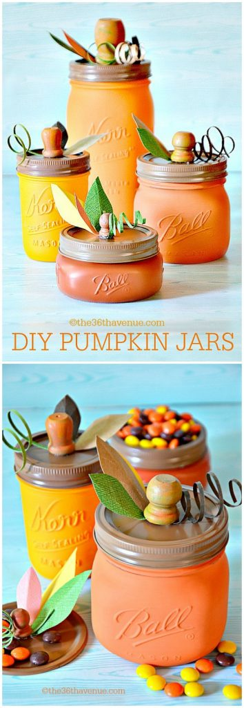 37 - 36th Avenue - Pumpkin Mason Jars