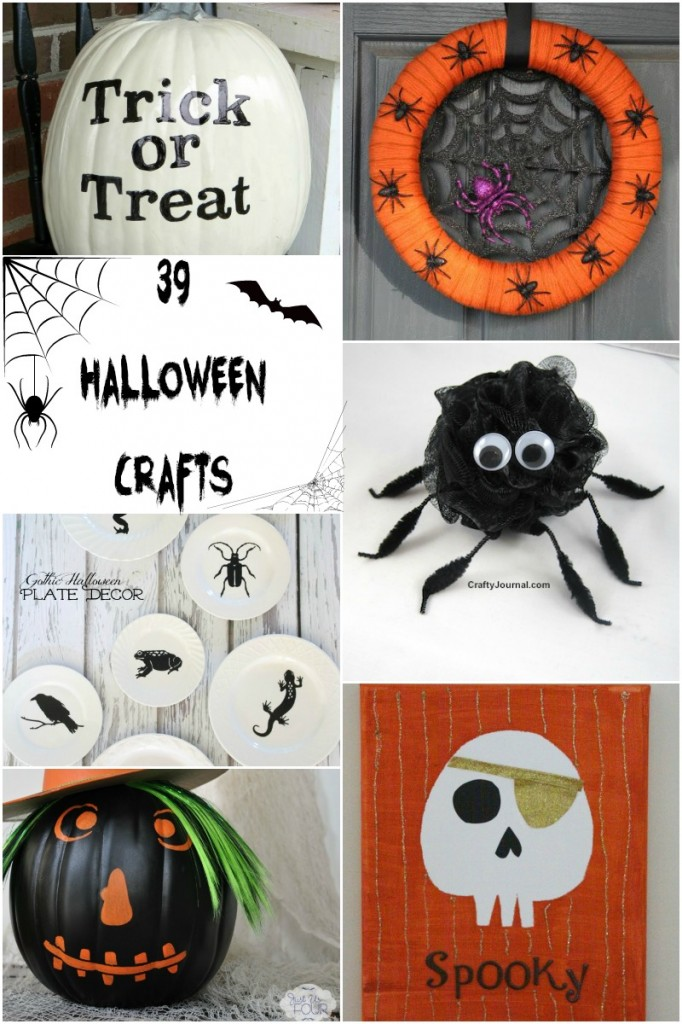 I love all of these great Halloween crafts.