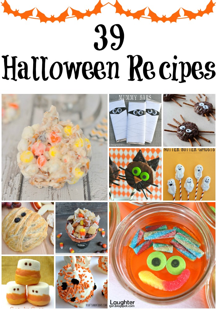 Get ready for Halloween with these fabulous 39 Halloween recipes.