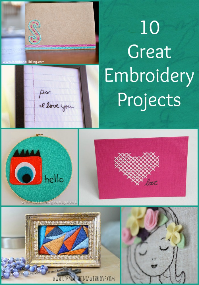 10 Great Embroidery Projects
