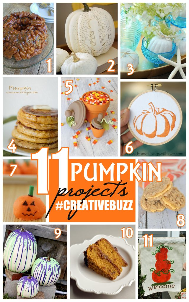 11 Pumpkin Projects