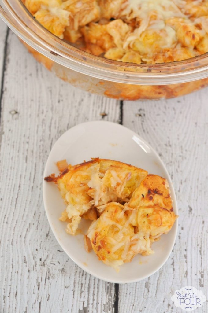 Barbecue Chicken Biscuit Pull-Apart With Buttermilk Ranch Recipes ...