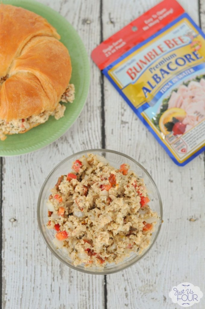 I totally want to make this tuna salad right now! It sounds amazing.