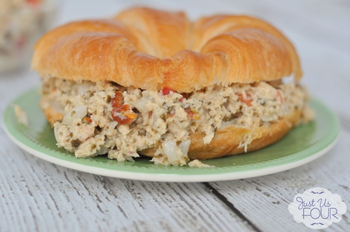 This is the best tuna salad I have ever tried! It has zero mayo and tastes amazing.