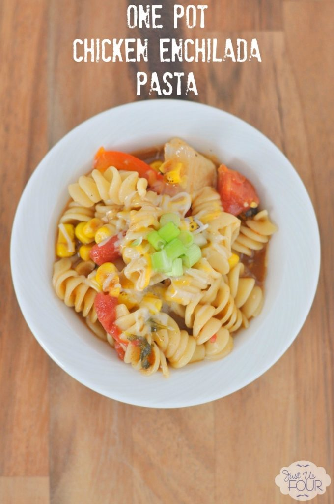 Anything I can make in only one pot is winner for me. This pasta looks amazing.