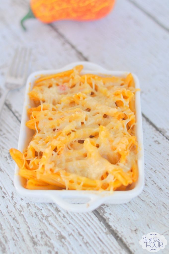 The best homemade pumpkin macaroni and cheese!