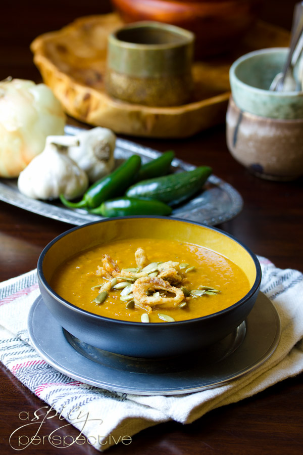 07 - A Spicy Perspective - Spicy Pumpkin Soup