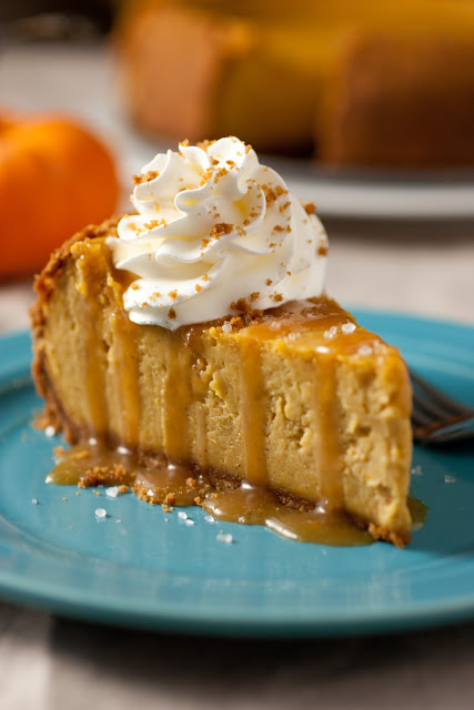 09 - Cooking Classy - Pumpkin Cheesecake with Salted Caramel Sauce