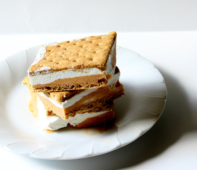 12 - Days of Chalk and Chocoalte - Pumpkin Pie Ice Cream Sandwiches
