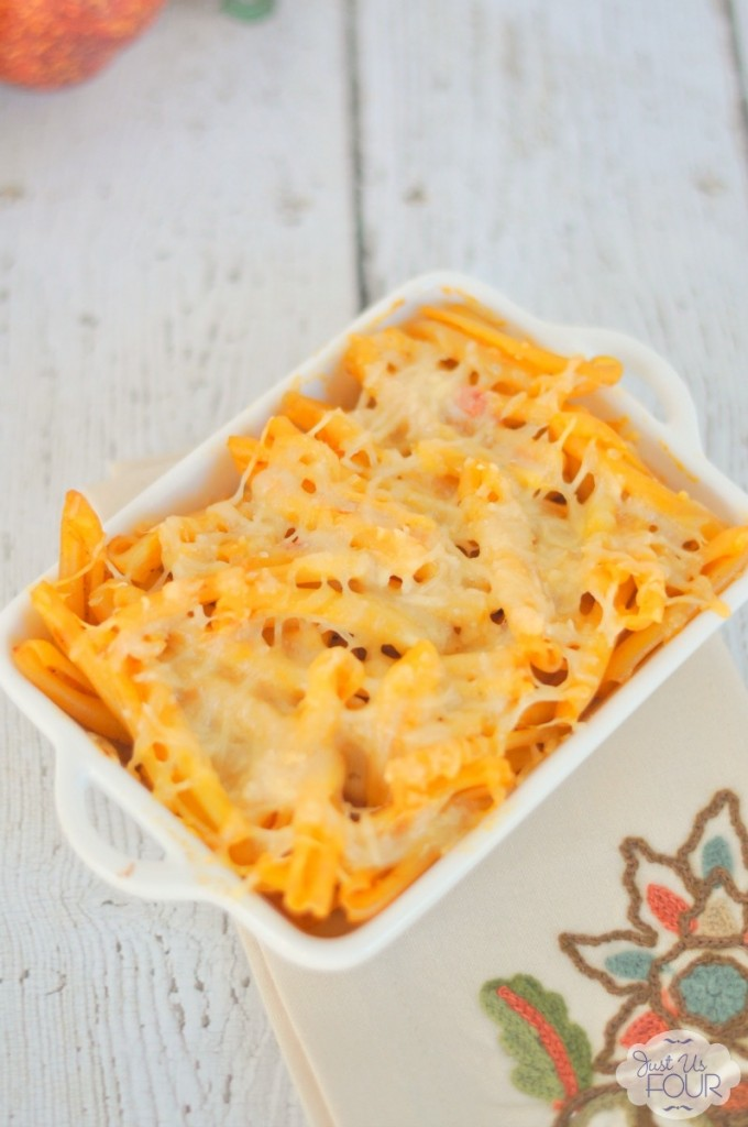 13 - Just Us Four - Pumpkin Macaroni and Cheese