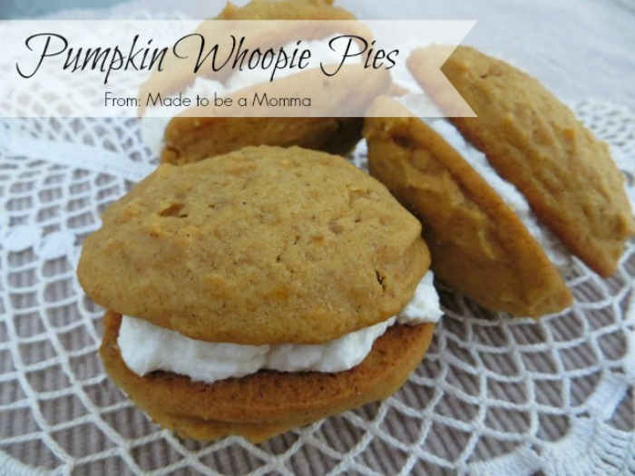 14 - Made to Be a Momma - Pumpkin Whoopie Pies