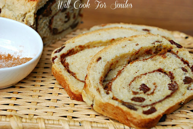 15 - Will Cook for Smiles - Pumpkin Spice Swirl Bread