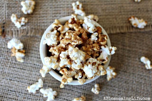 17 - A Blossoming Life - Pumpkin Spice Popcorn