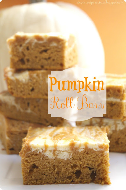 18 - The Recipe Critic - Pumpkin Roll Bars