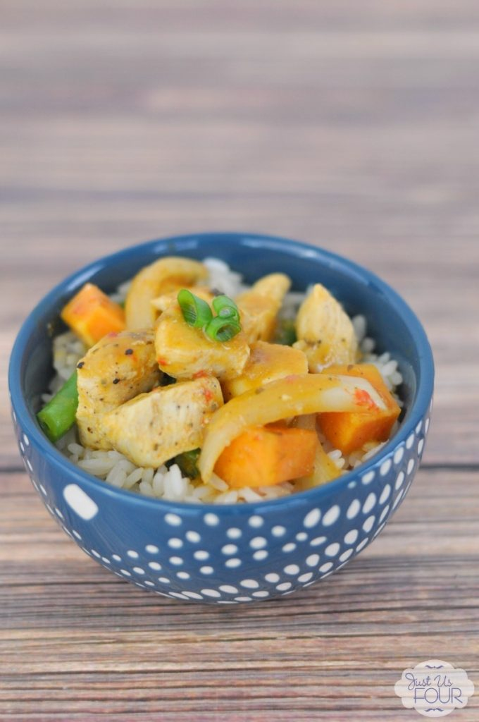 Chicken and Vegetable Coconut Curry Recipe