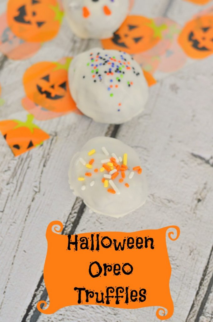 These are so good and such a great idea to get kids involved in making fun Halloween treats. I need to stock up on Halloween Oreos before they sell out and I won't be able to make these truffles.