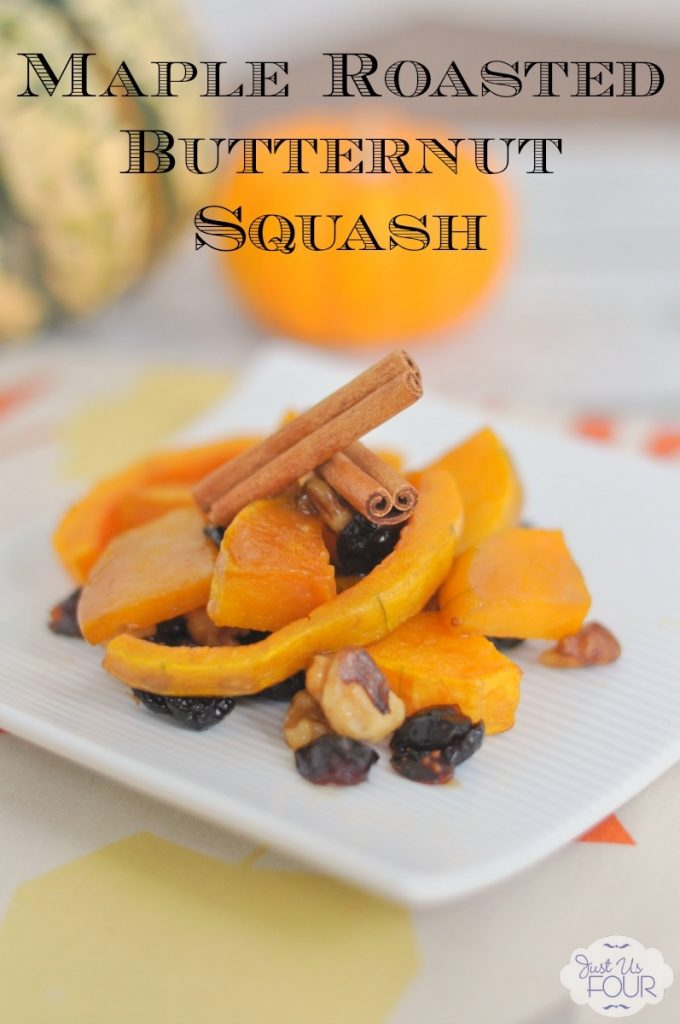 If you want fall on a plate, you want this maple roasted butternut squash recipe!