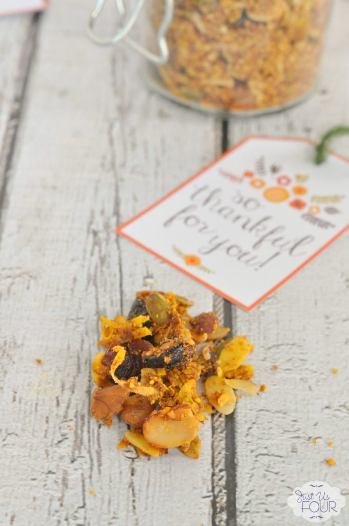 Easy and delicious paleo pumpkin pie granola!