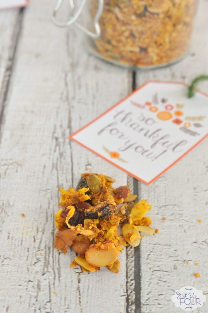 Easy and delicious paleo pumpkin pie granola!