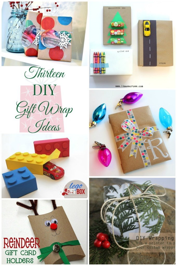 13 Creative Gift Wrapping Ideas to make your packages gorgeous this Christmas.