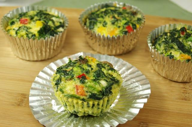 21 - The Kitchen is My Playground - Veggie Quiche Cups
