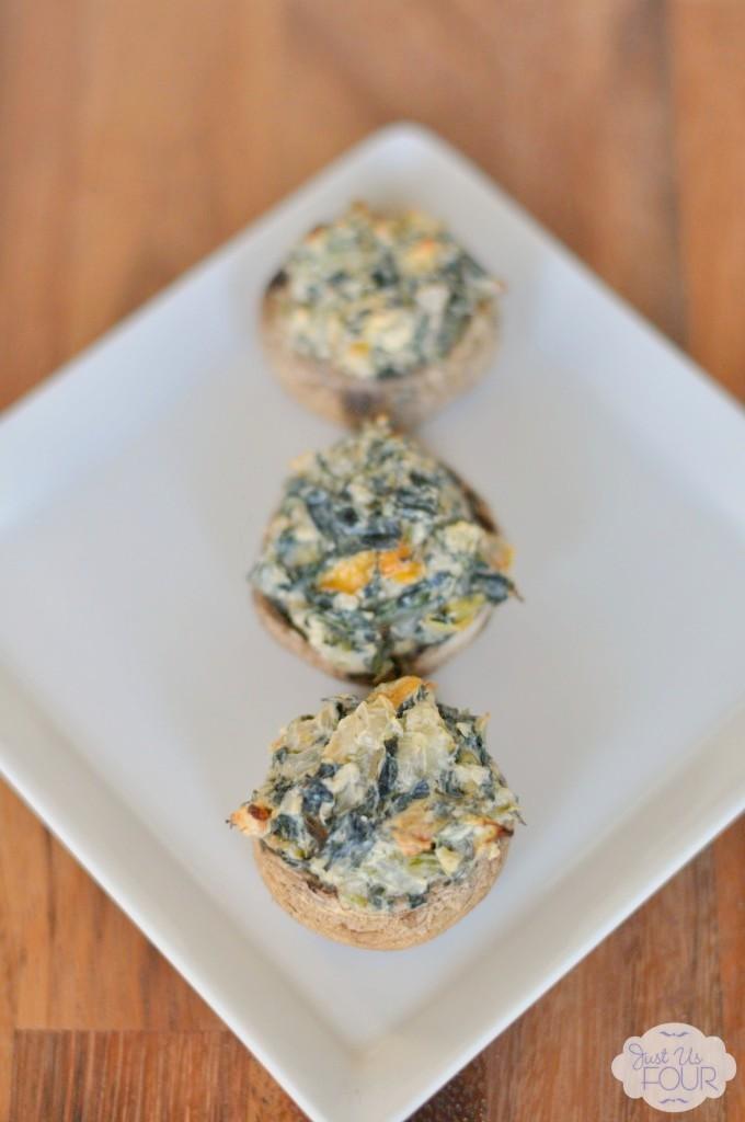 Spinach-Stuffed-Mushrooms-on-Plate_wm-680x1024