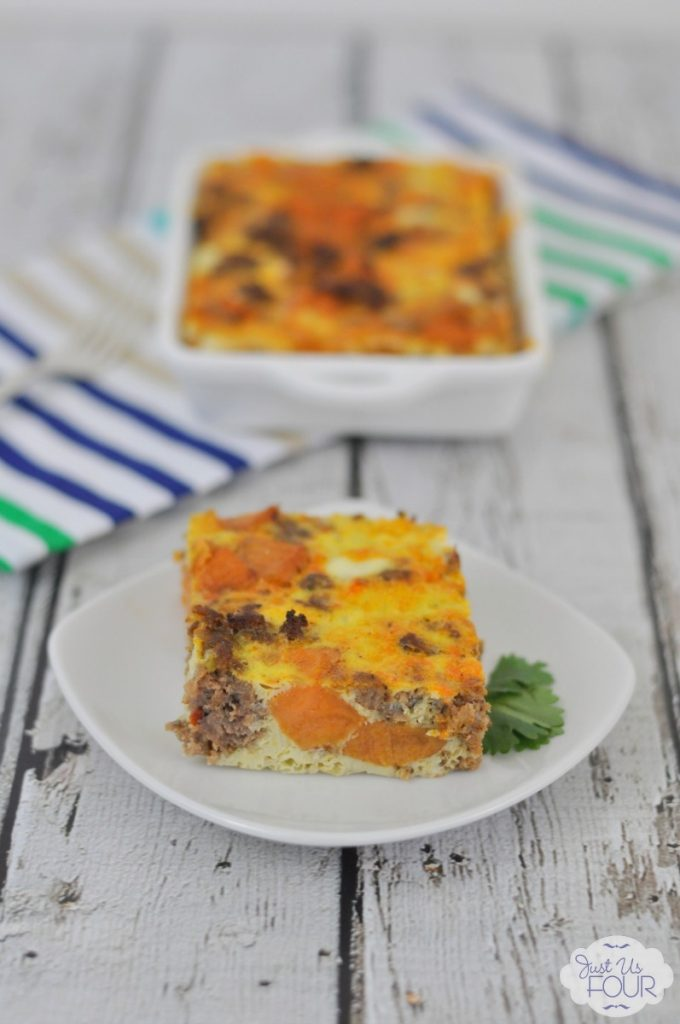A delicious and paleo overnight breakfast casserole recipe!
