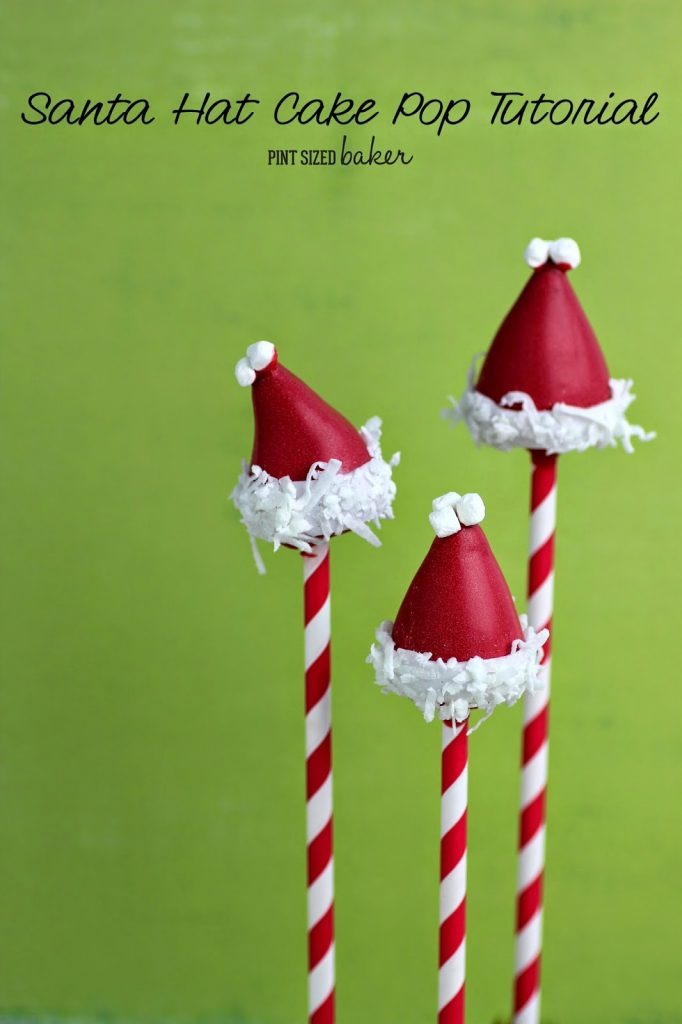 1 ps Santa Hat Cake Pops (4)