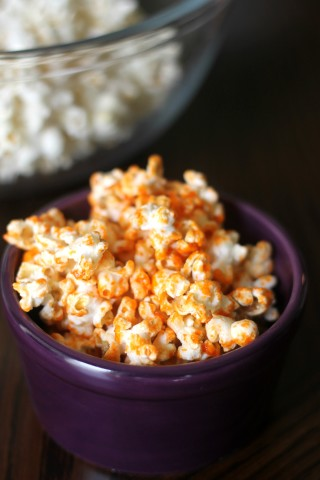 13 - Domestic Superhero - Sriracha Popcorn