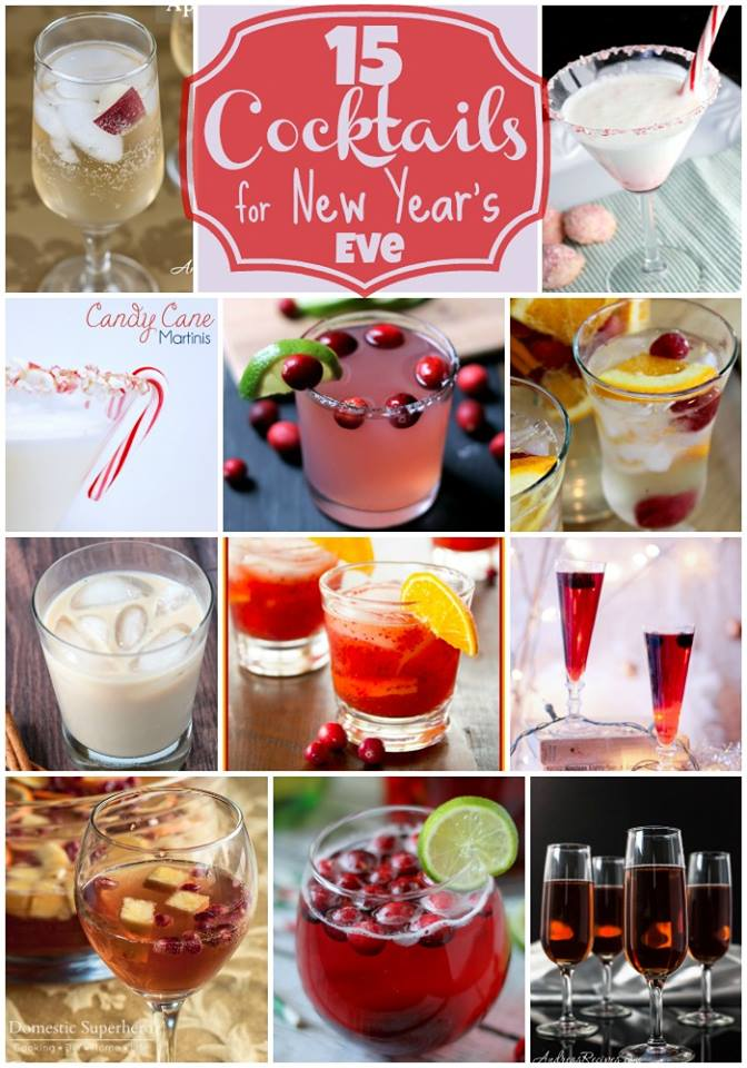 15 Cocktail Recipes for New Year's Eve