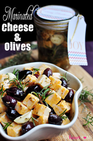 24 - Five Heart Home - Marinated Cheese and Olives
