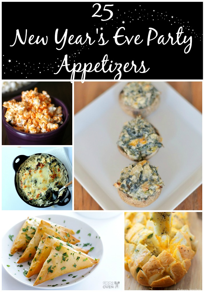 25 New Year's Eve Party Appetizer ideas
