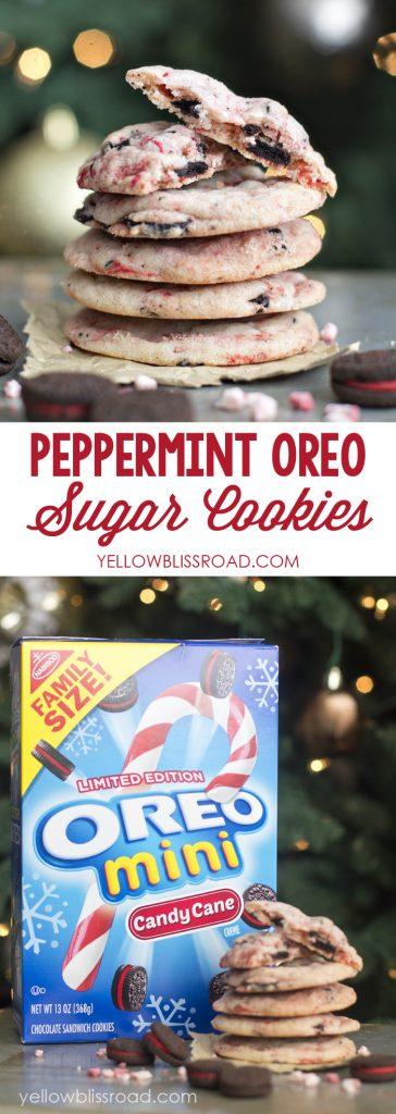 31 - Yellow Bliss Road - Peppermint Oreo Sugar Cookies