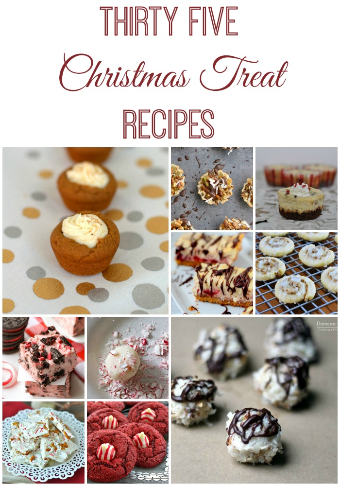 35 amazing Christmas treat recipes! I want to try them all.