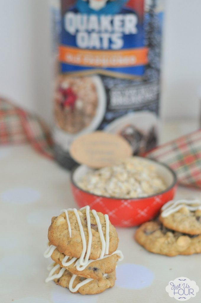 Oh, I can't wait to make these white chocolate cranberry oatmeal cookies this year.