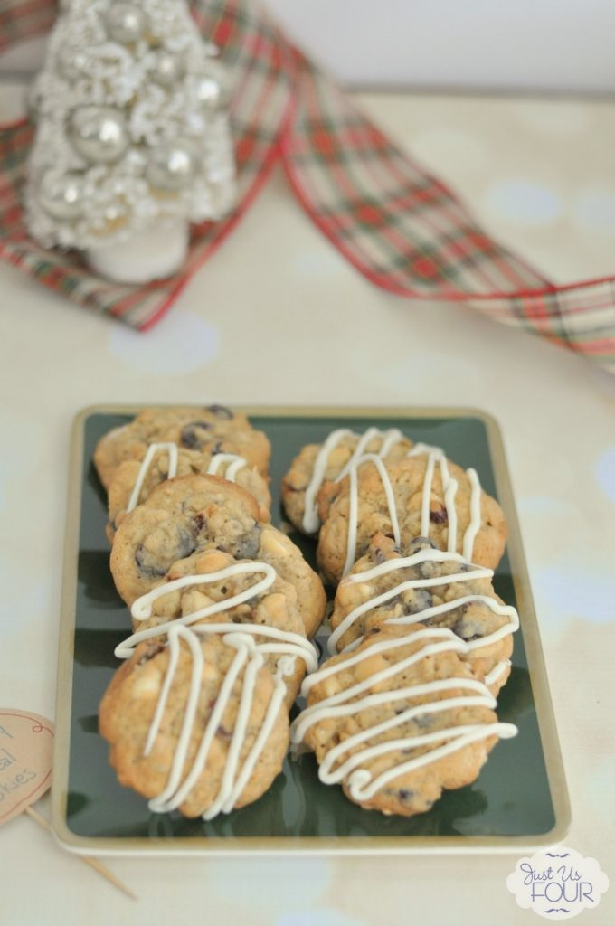 My family is going to love these white chocolate cranberry oatmeal cookies!