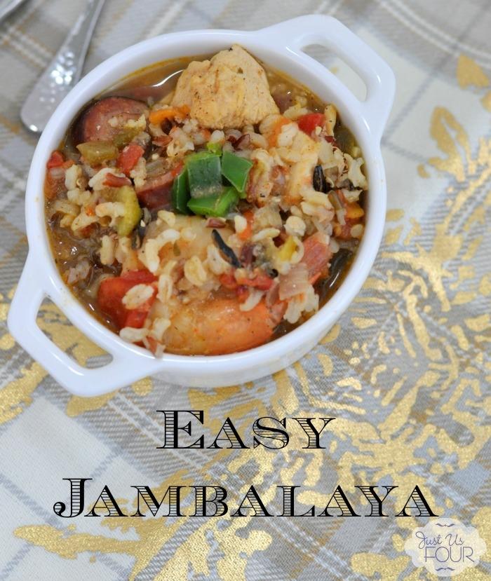 Easy Gluten Free Jambalaya