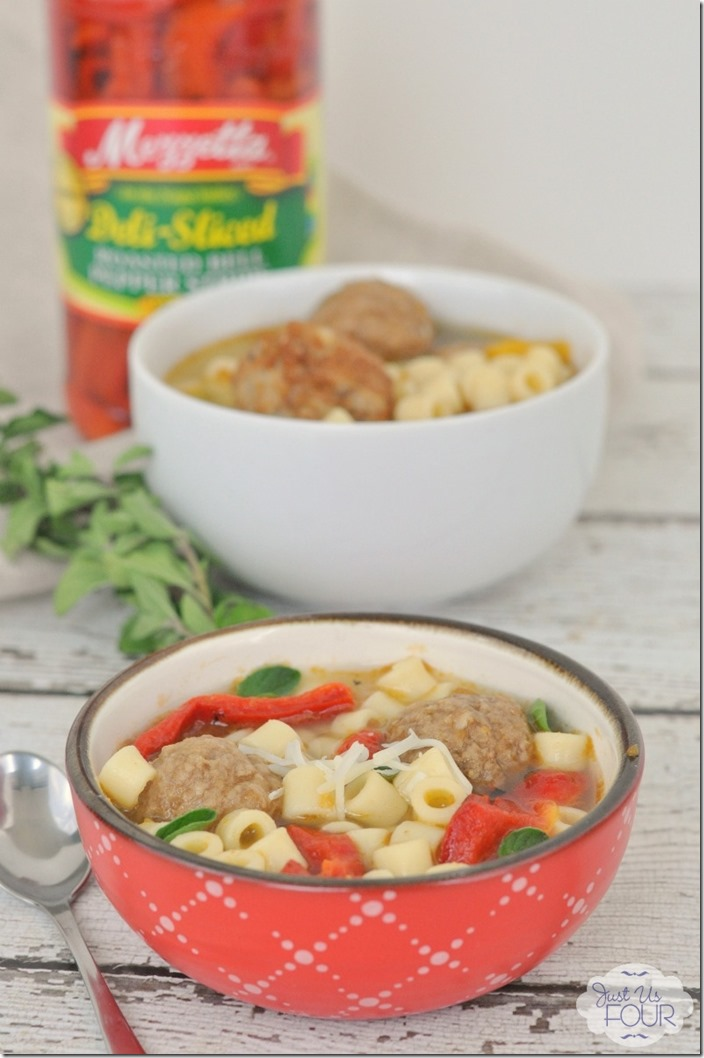 Quick and easy Italian Meatball Soup