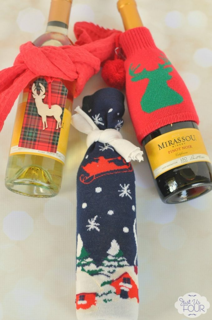 Three easy ways to wrap wine bottles - go beyond the bag!