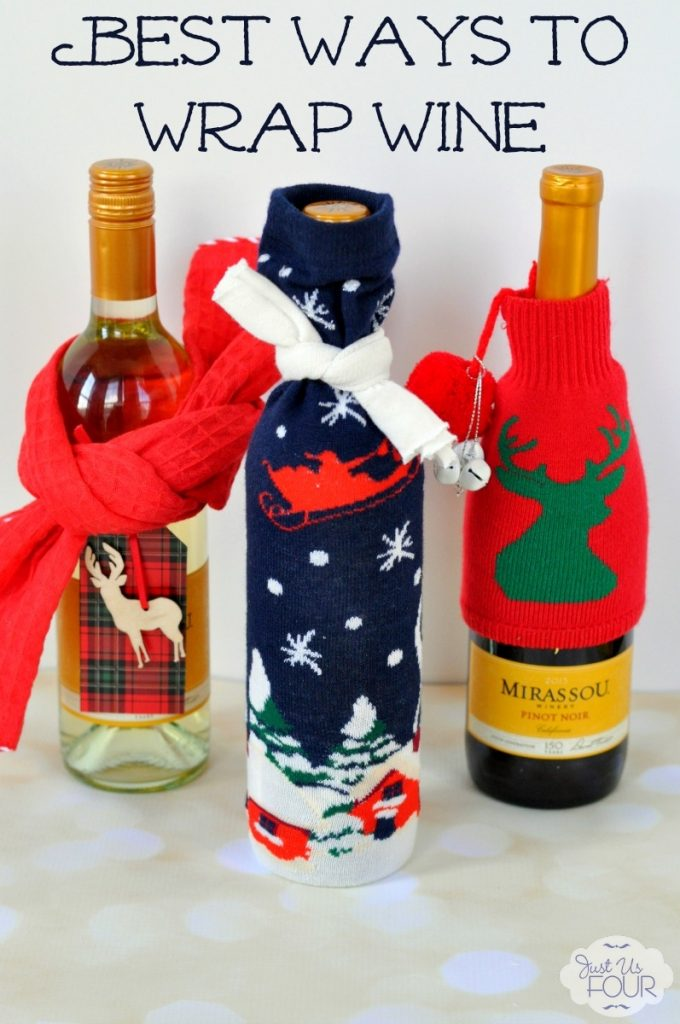 Three easy ways to wrap wine beyond the boring bag.