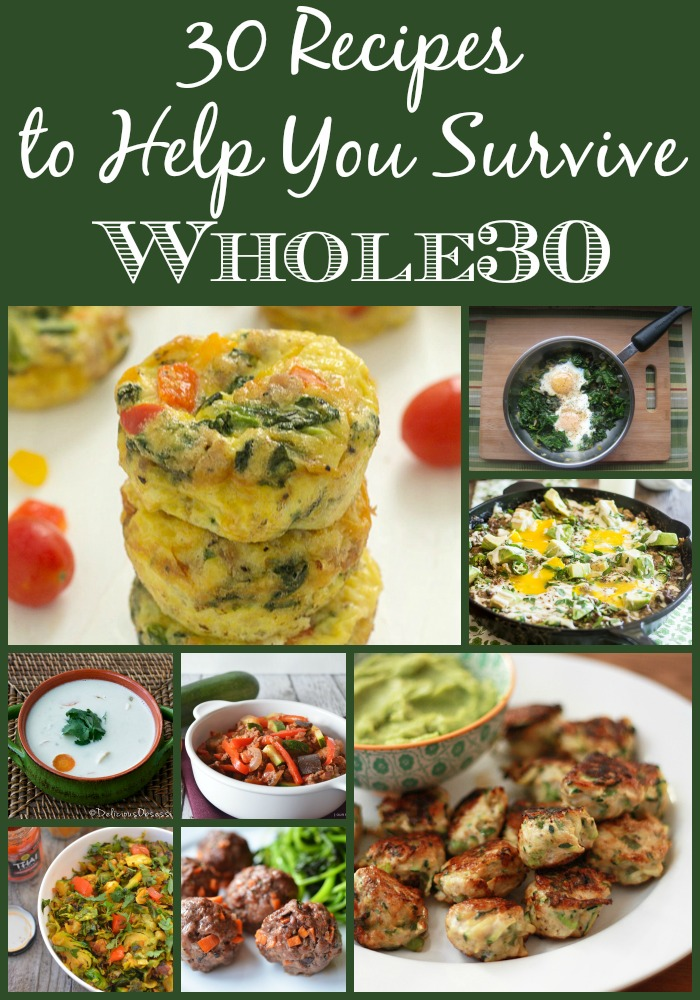 30 Whole30 Recipes to help you survive the 30 days