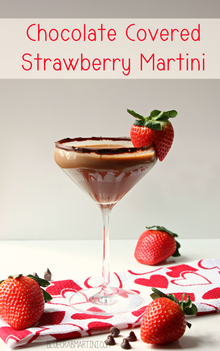 Chocolate Covered Strawberry Martini My Suburban Kitchen