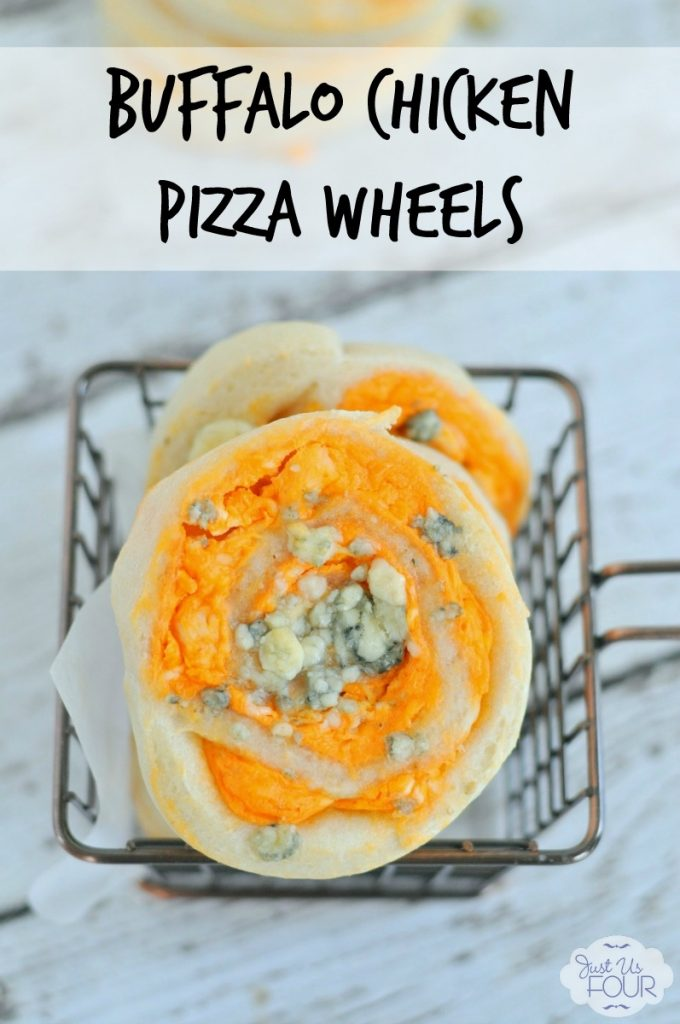 These buffalo chicken pinwheels are the perfect game day food!